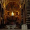 Pisa -- Innenansicht des Doms - Apsismosaik