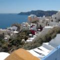 Santorin -- Blick über Oia