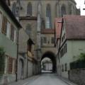 Rothenburg -- Durchgang durch die Jakobskirche
