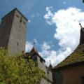 Rothenburg -- Turm am Burggarten