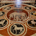 Toskana -- Siena, Fußboden Dom