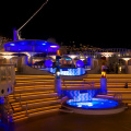 Aida -- Beleuchtetes Deck
