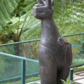 Madeira -- Skulptur im Tropical Garden