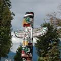 Vancouver -- Totem im Stanley Park