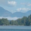 Vancouver Island - Wildlife Tour -- Blick auf die bergige Insel