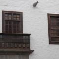 Gran Canaria -- Las Palmas - Holzbalkon