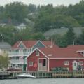 Cape Breton Island -- Baddeck - vom Wasser aus