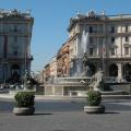 Piazza Repubblica -- Brunnen
