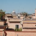 Dächer von Rom und Petersdom -- Blick vom Quirinal