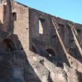 Kolosseum -- Außenmauer von innen