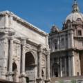Triumphbogen -- des Septimius Severus