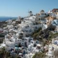 Santorin -- Blick auf Oia